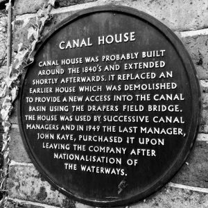 Canal House Plaque Address Contact