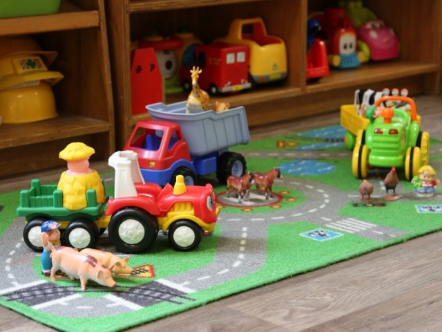Farm Vehicles & Animals
