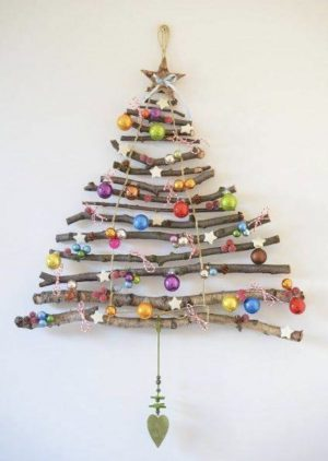 Forest Friends Christmas Tree Wooden Sticks